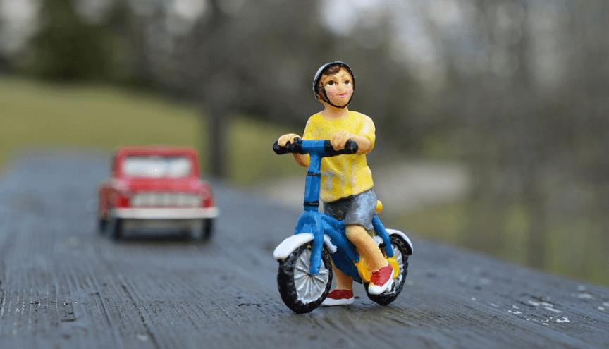 Lesiones en niños por accidente de tráfico