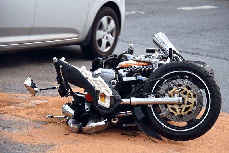 Indemnización por lesiones en accidente de moto
