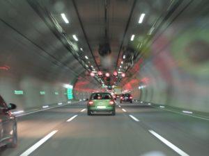 Guía de actuación en caso de accidente en un túnel