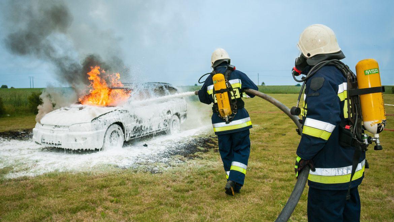 Las quemaduras en accidentes de coche