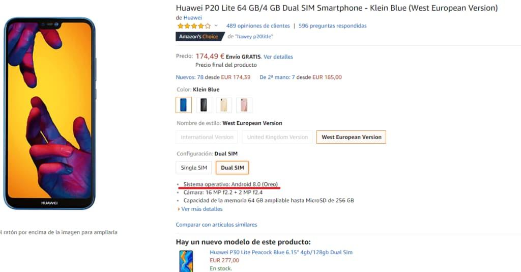 Indemnización para clientes de smartphones Huawei